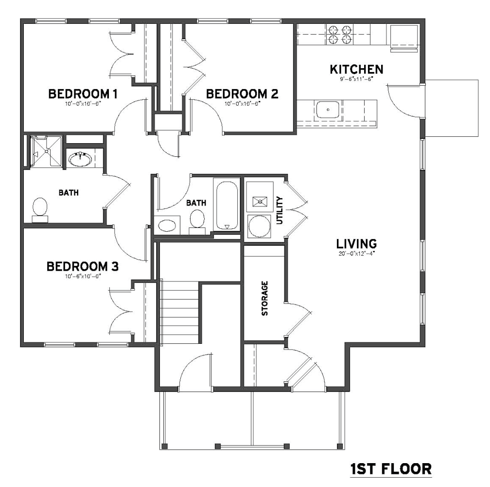 3 bedroom 2 bath flats plowfield square 3 bedroom 1 bath floor plans